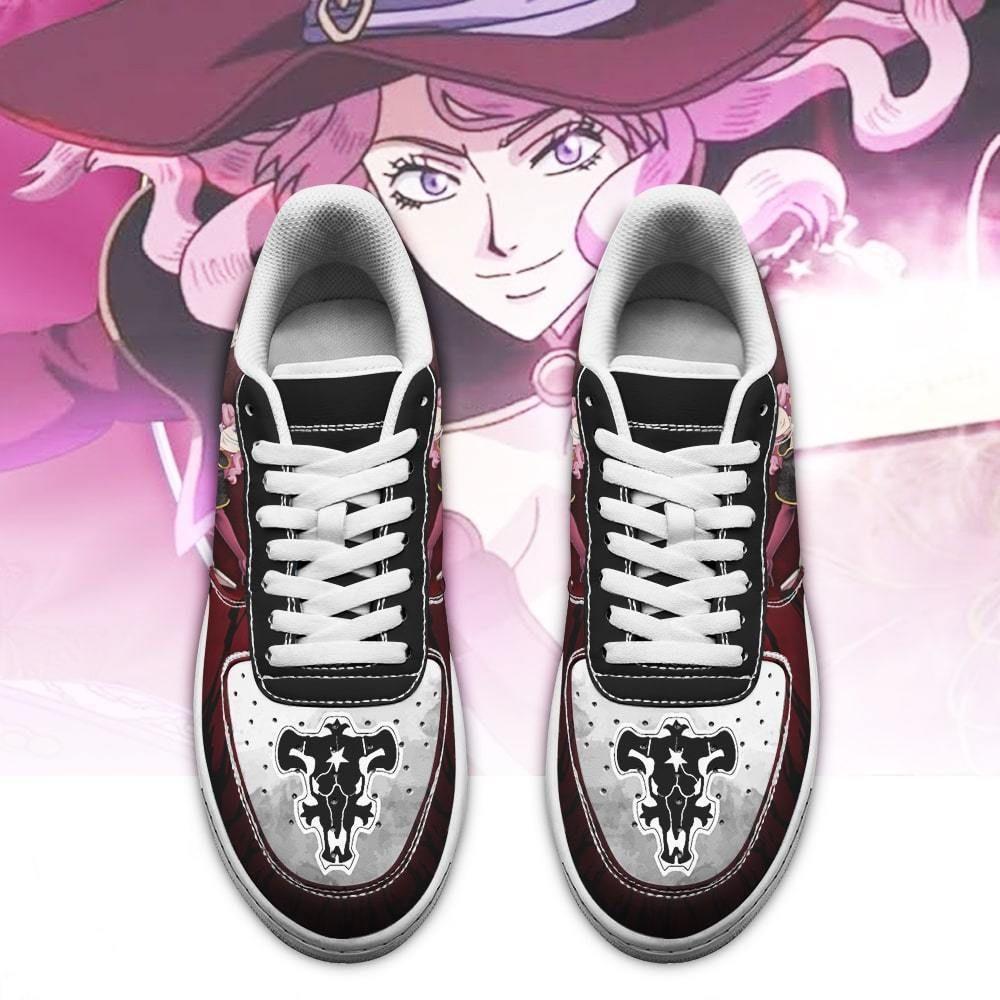 Vanessa Enoteca Air Shoes Black Bull Knight Black Clover Anime Shoes GO1012