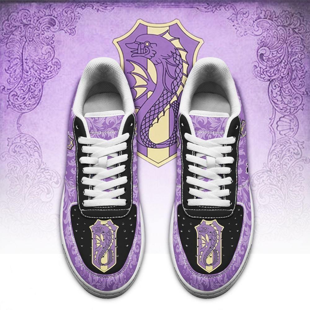 Black Clover Shoes Magic Knights Squad Purple Orca Air Shoes Anime GO1012