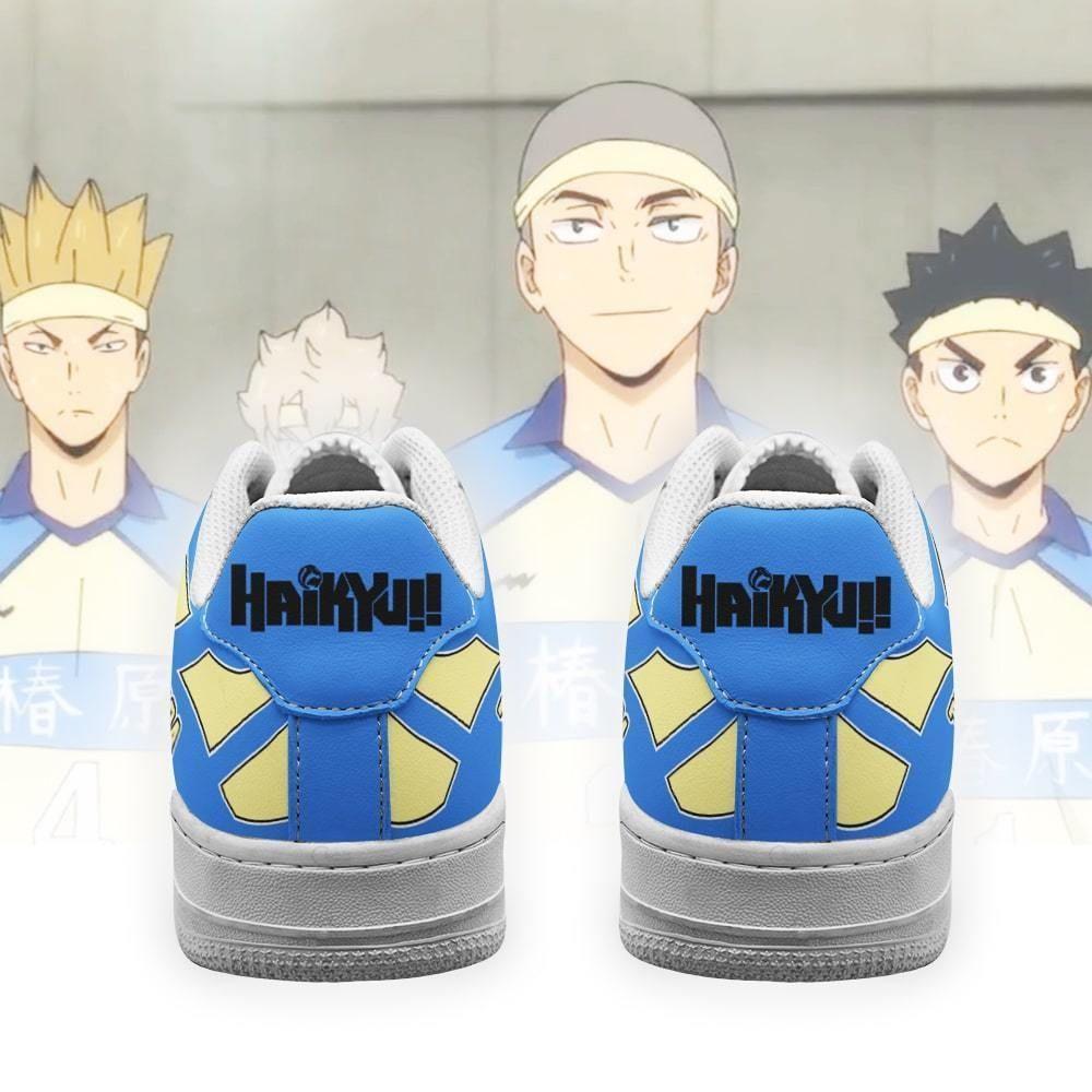 Haikyuu Tsubakihara Academy Air Shoes Uniform Haikyuu Anime Shoes GO1012