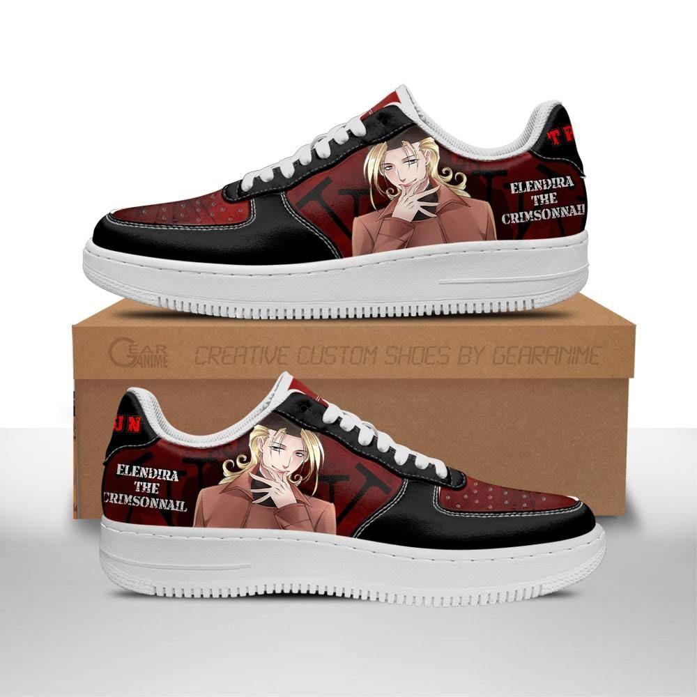 Trigun Shoes Elendira the Crimsonnail Air Shoes Anime Shoes GO1012