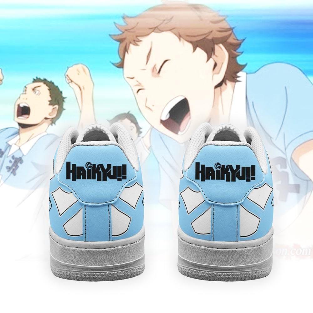 Haikyuu Tokonami High Air Shoes Uniform Haikyuu Anime Shoes GO1012