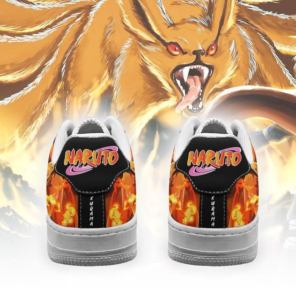 Tailed Beast Kurama Air Shoes Custom Naruto Anime Shoes Leather GO1012
