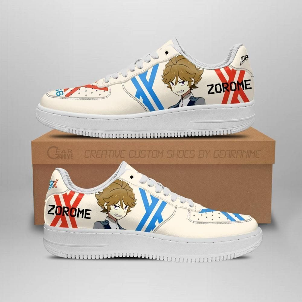 Darling In The Franxx Shoes Code 666 Zorome Air Shoes Anime Shoes GO1012