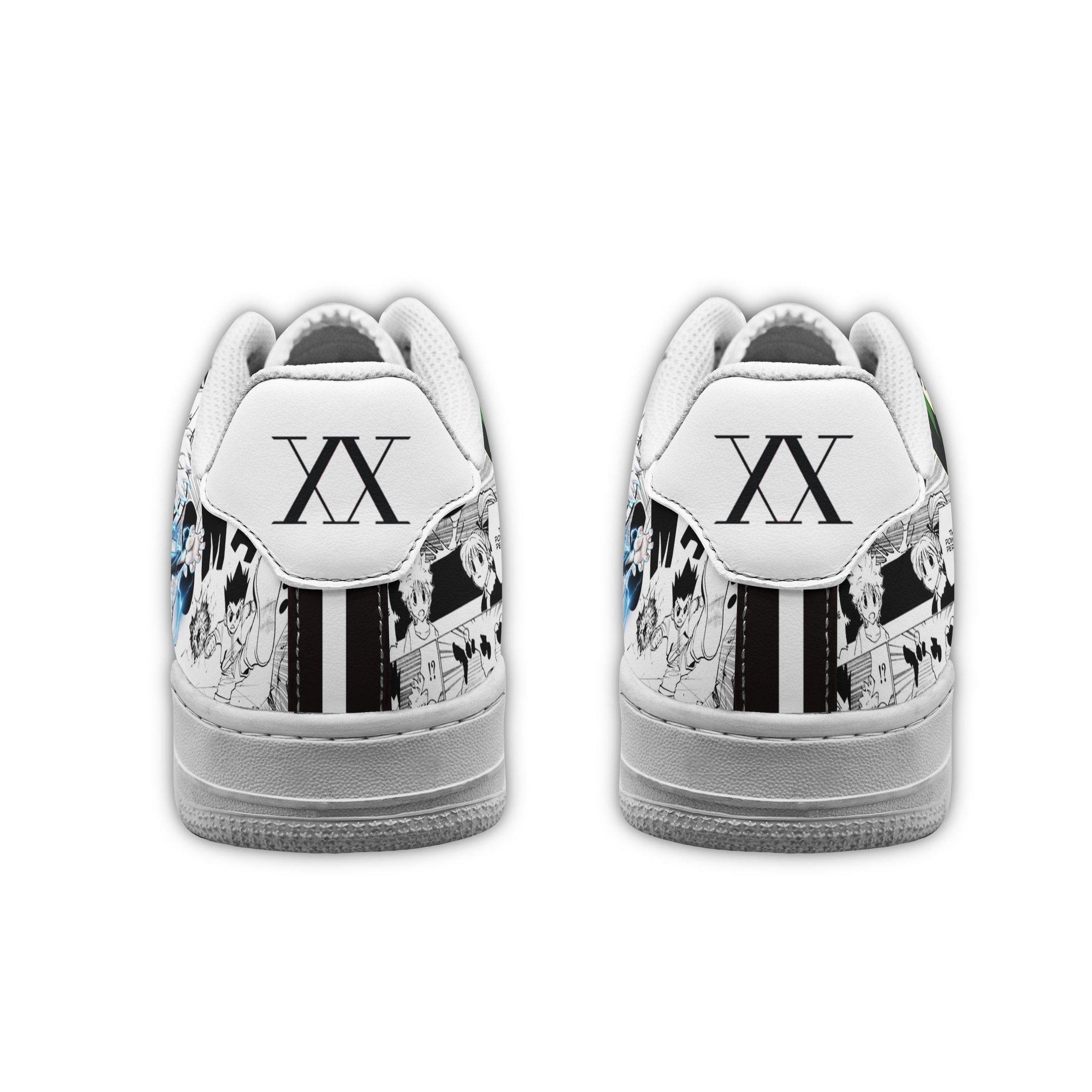 Hunter X Hunter Air Sneakers HxH Custom Anime Shoes GO1012