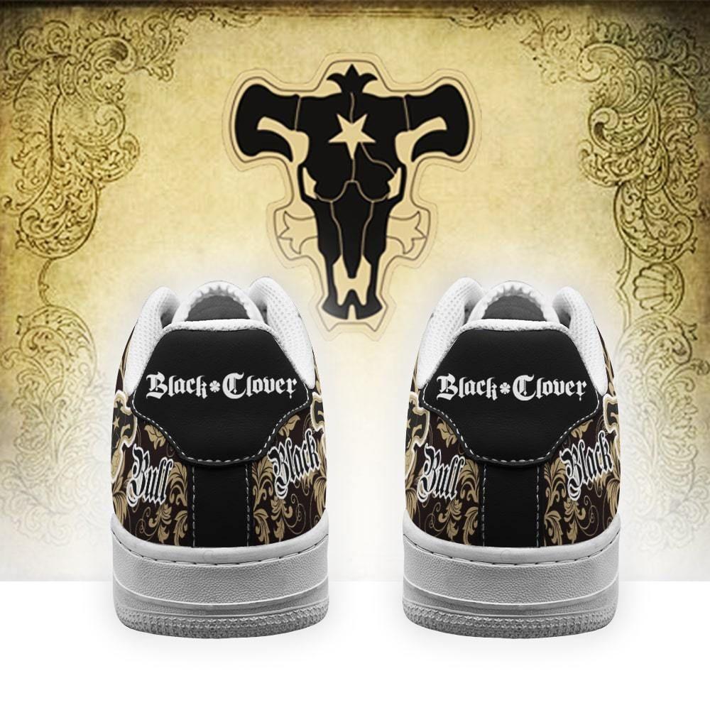 Black Clover Shoes Magic Knights Squad Black Bull Air Shoes Anime GO1012