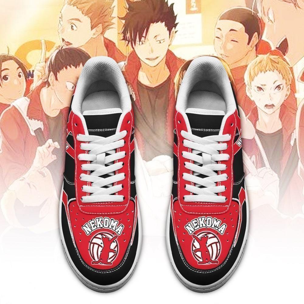 Haikyuu Nekoma High Air Shoes Uniform Haikyuu Anime Shoes GO1012