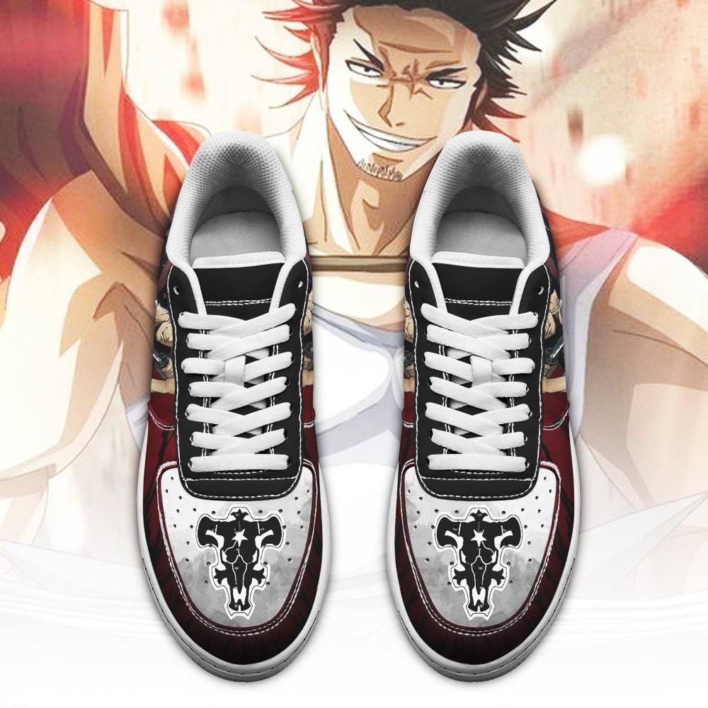 Yami Sukehiro Air Shoes Black Bull Knight Black Clover Anime Shoes GO1012
