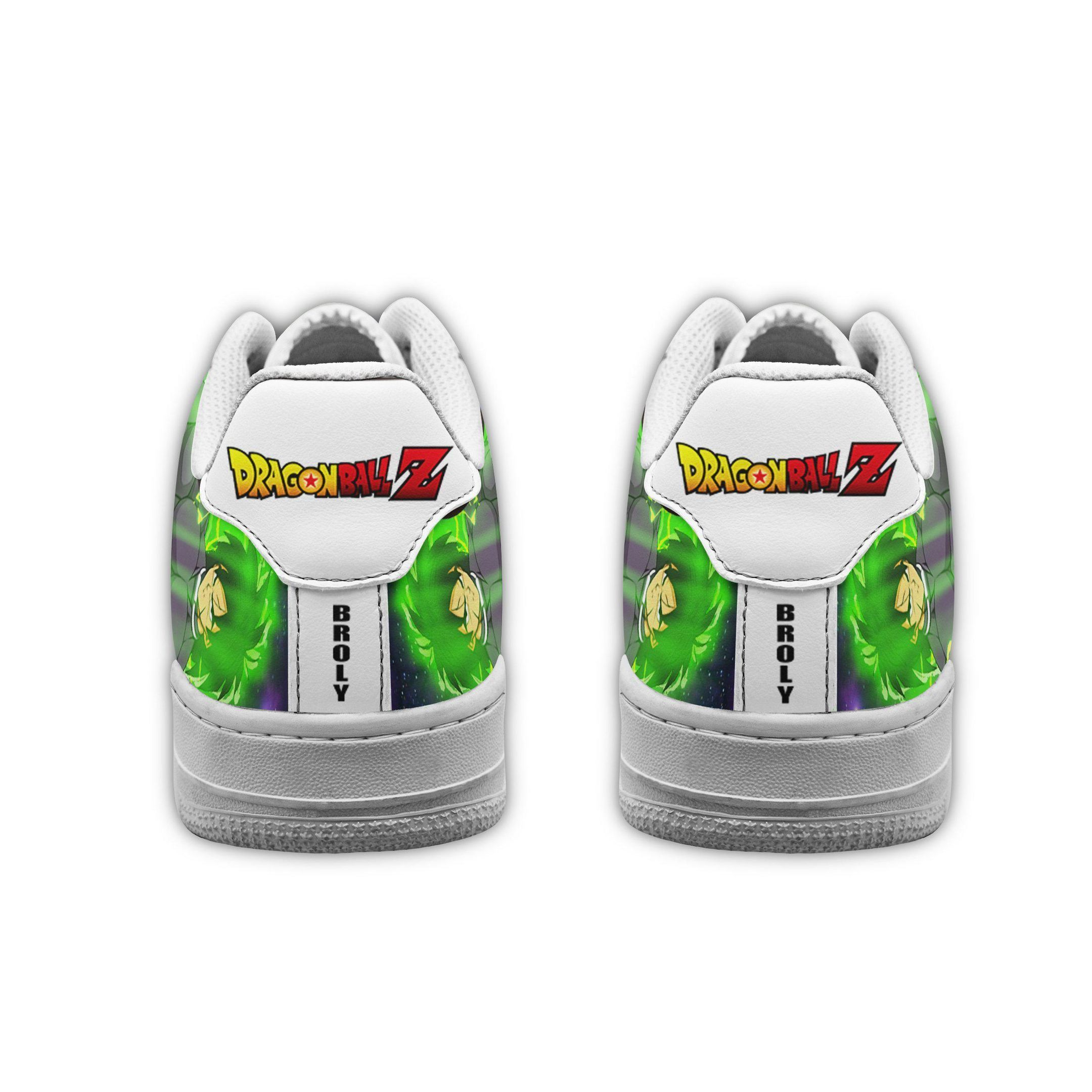 Broly Air Shoes Dragon Ball Z Anime Shoes Fan Gift GO1012