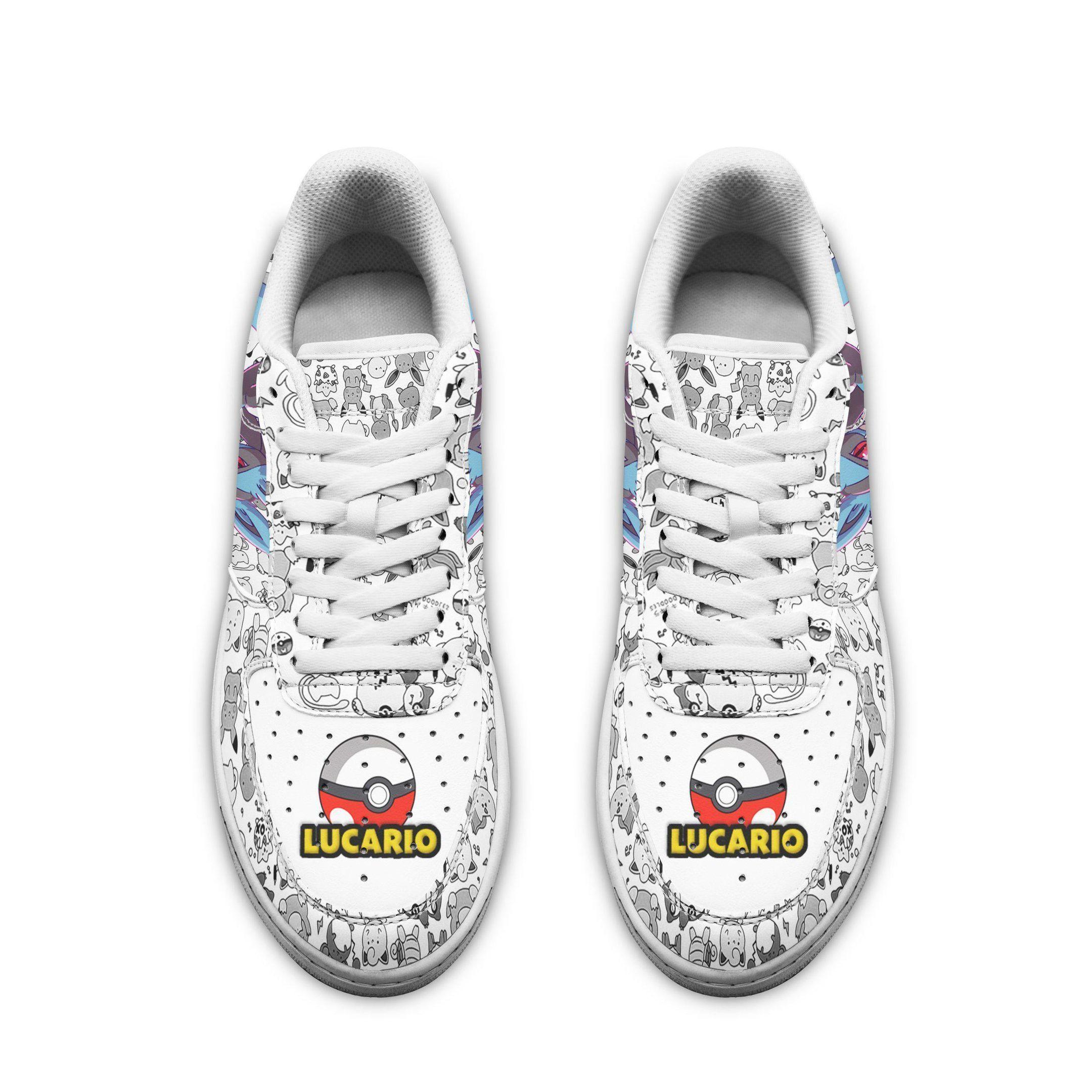Lucario Air Shoes Pokemon Shoes Fan Gift Idea GO1012