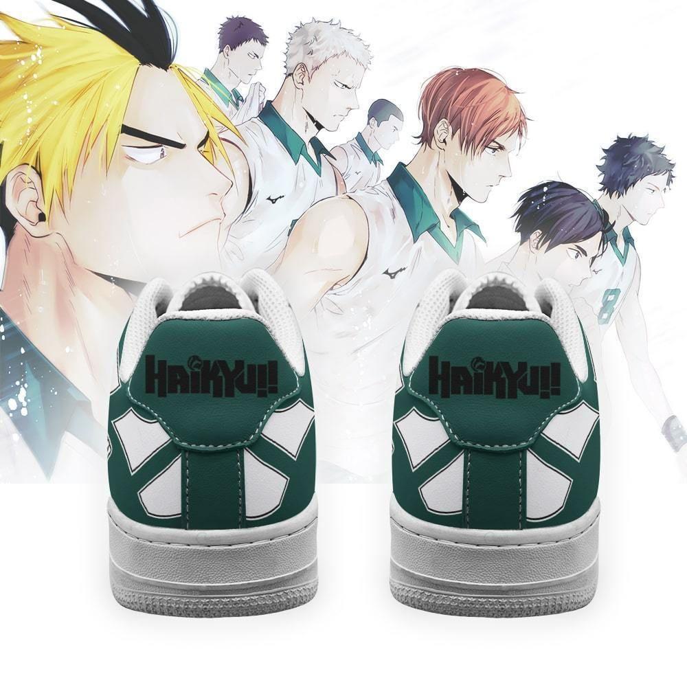 Haikyuu Date Tech High Air Shoes Uniform Haikyuu Anime Shoes GO1012
