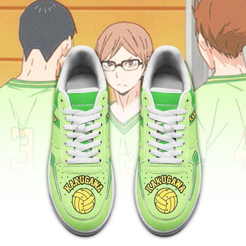 Haikyuu Kakugawa High Air Shoes Uniform Haikyuu Anime Shoes GO1012