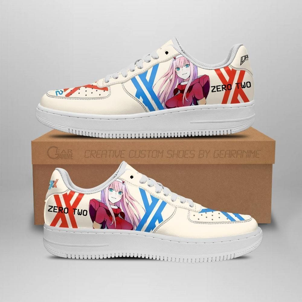 Darling In The Franxx Shoes Code 002 Zero Two Air Shoes Anime Shoes GO1012