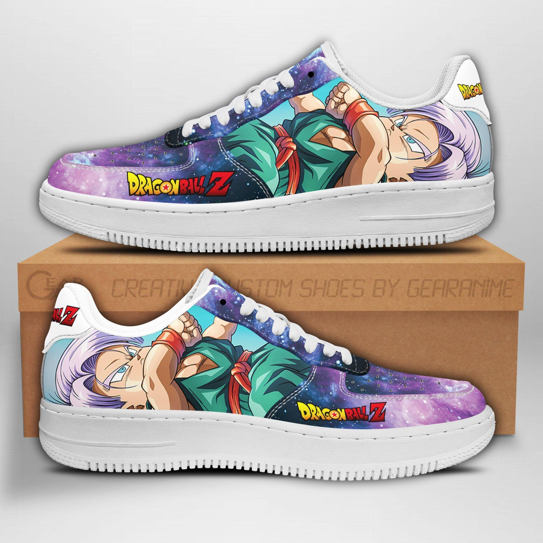 Kid Trunks Air Shoes Dragon Ball Z Anime Shoes Fan Gift GO1012