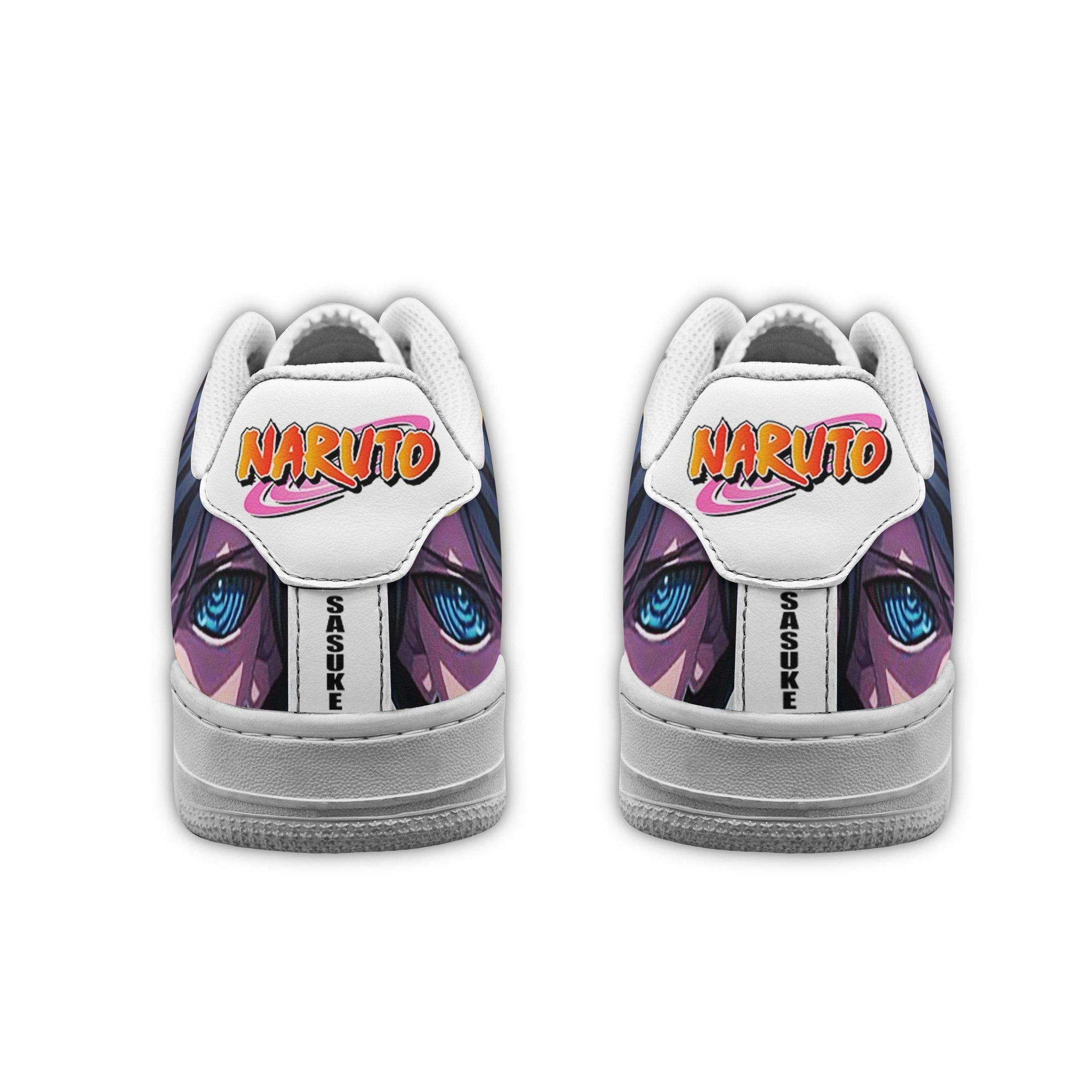 Sasuke Eyes Air Shoes Naruto Anime Shoes Fan Gift GO1012