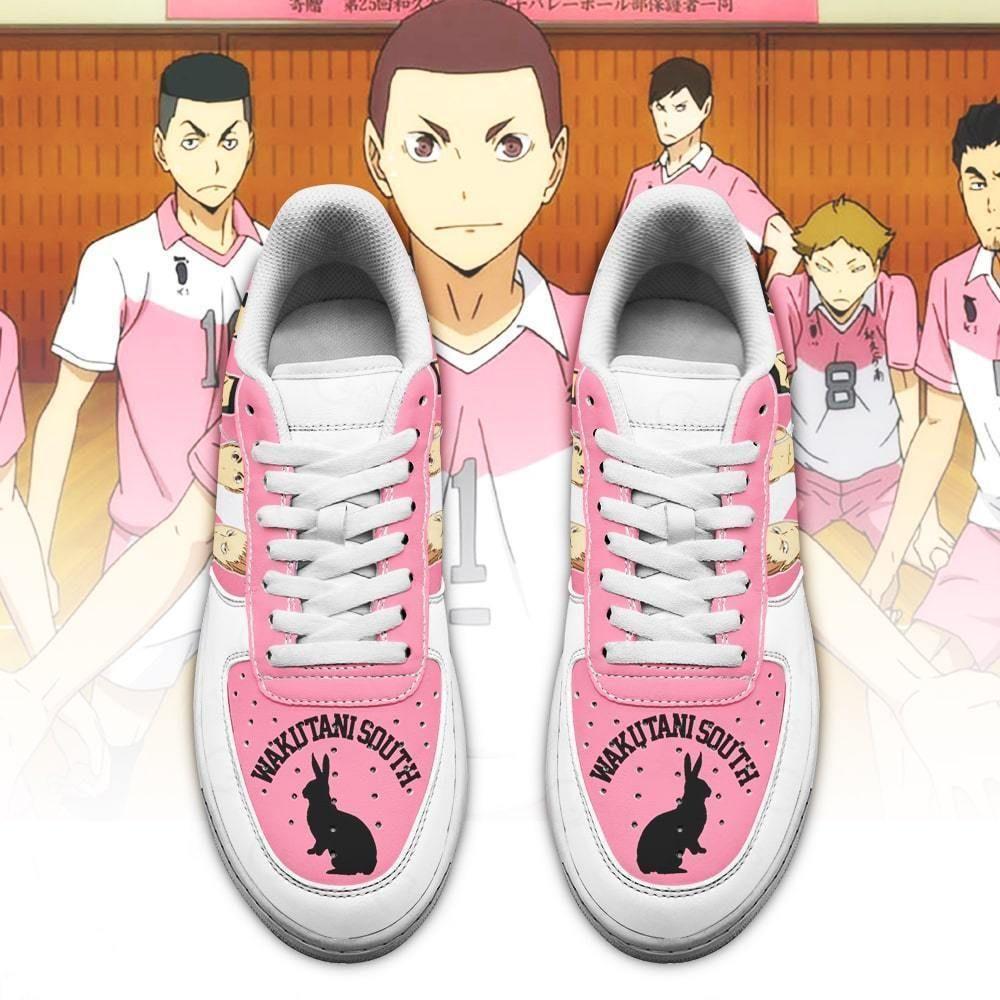 Haikyuu Wakutani South High Air Shoes Team Haikyuu Anime Shoes GO1012