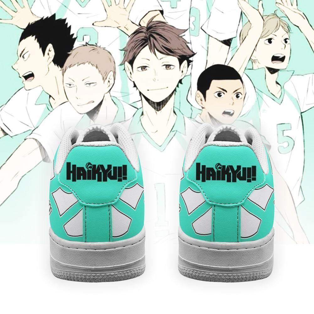 Haikyuu Aobajohsai High Air Shoes Uniform Haikyuu Anime Shoes GO1012