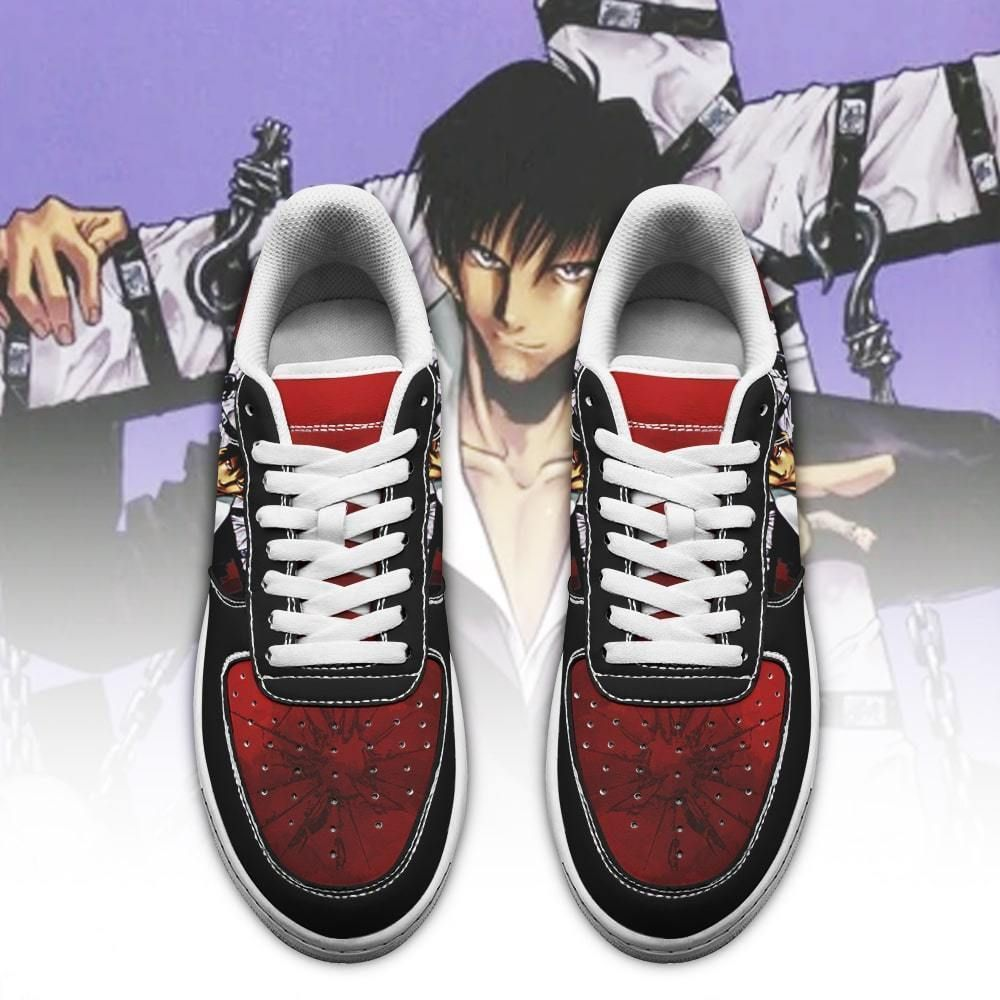Trigun Shoes Nicholas D. Wolfwood Air Shoes Anime Shoes GO1012