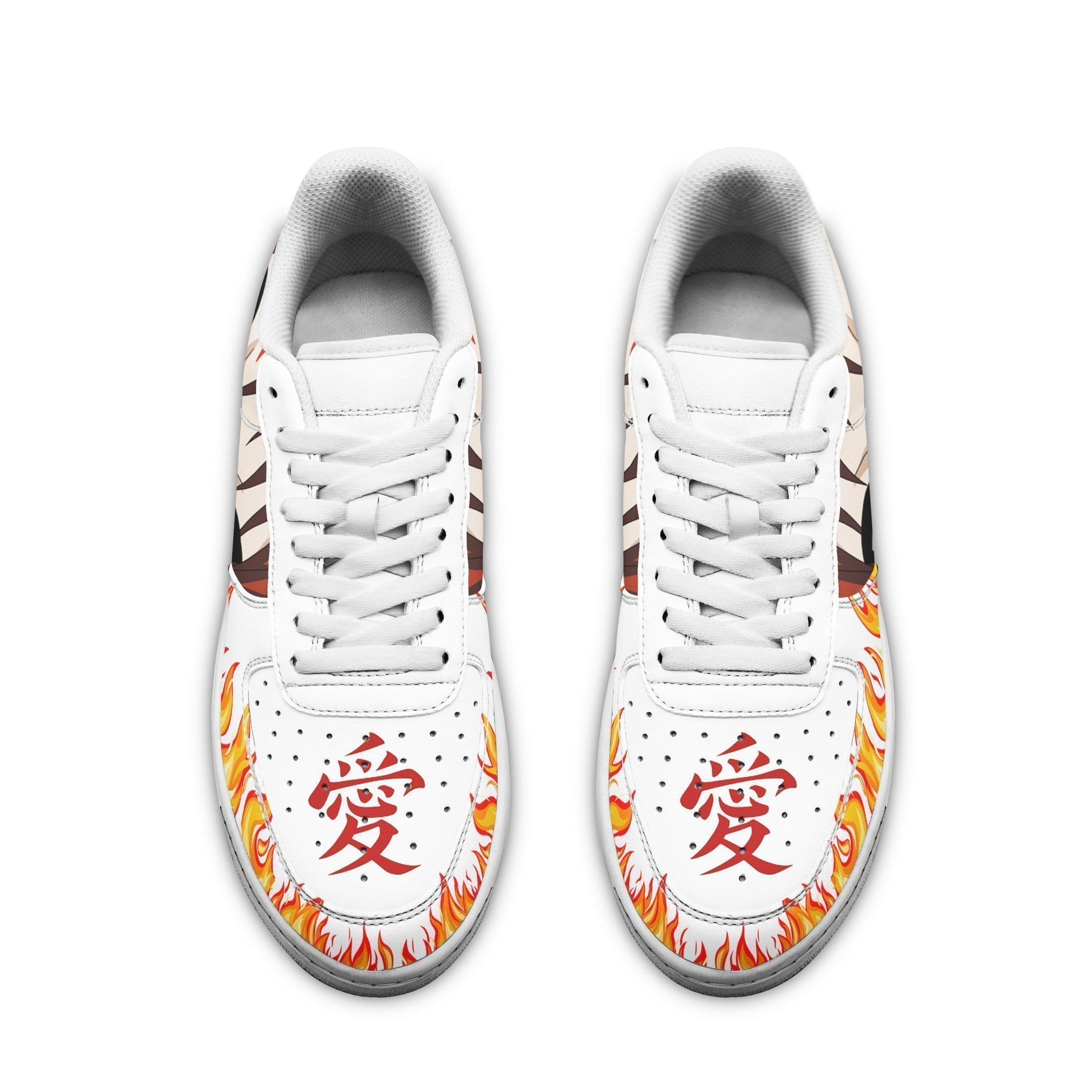 Gaara Eyes Air Shoes Naruto Anime Shoes Fan Gift GO1012