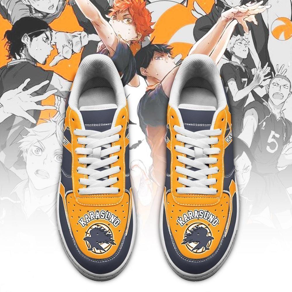 Haikyuu Karasuno High Air Shoes Uniform Haikyuu Anime Shoes GO1012