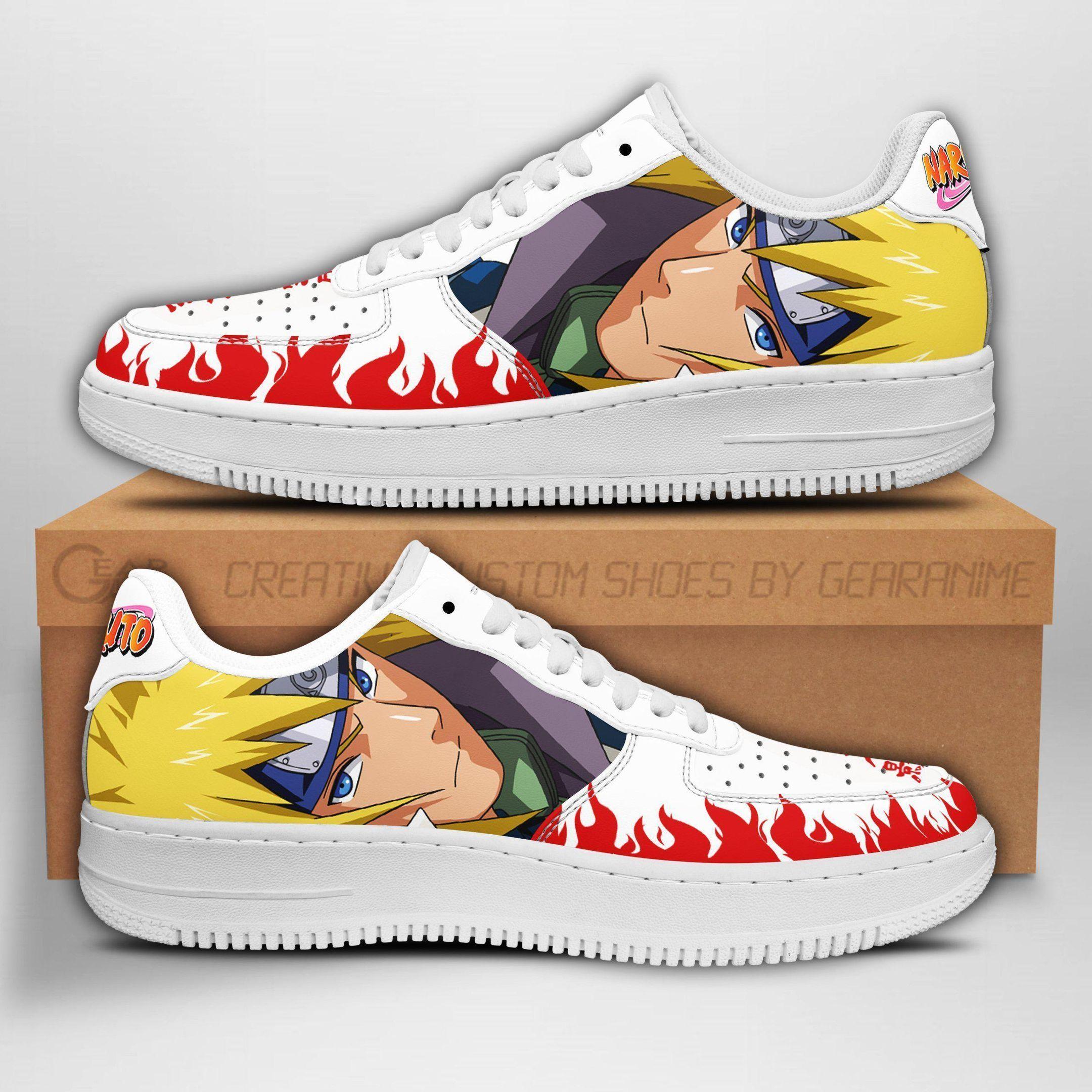 Minato Air Shoes Naruto Anime Shoes Fan Gift GO1012