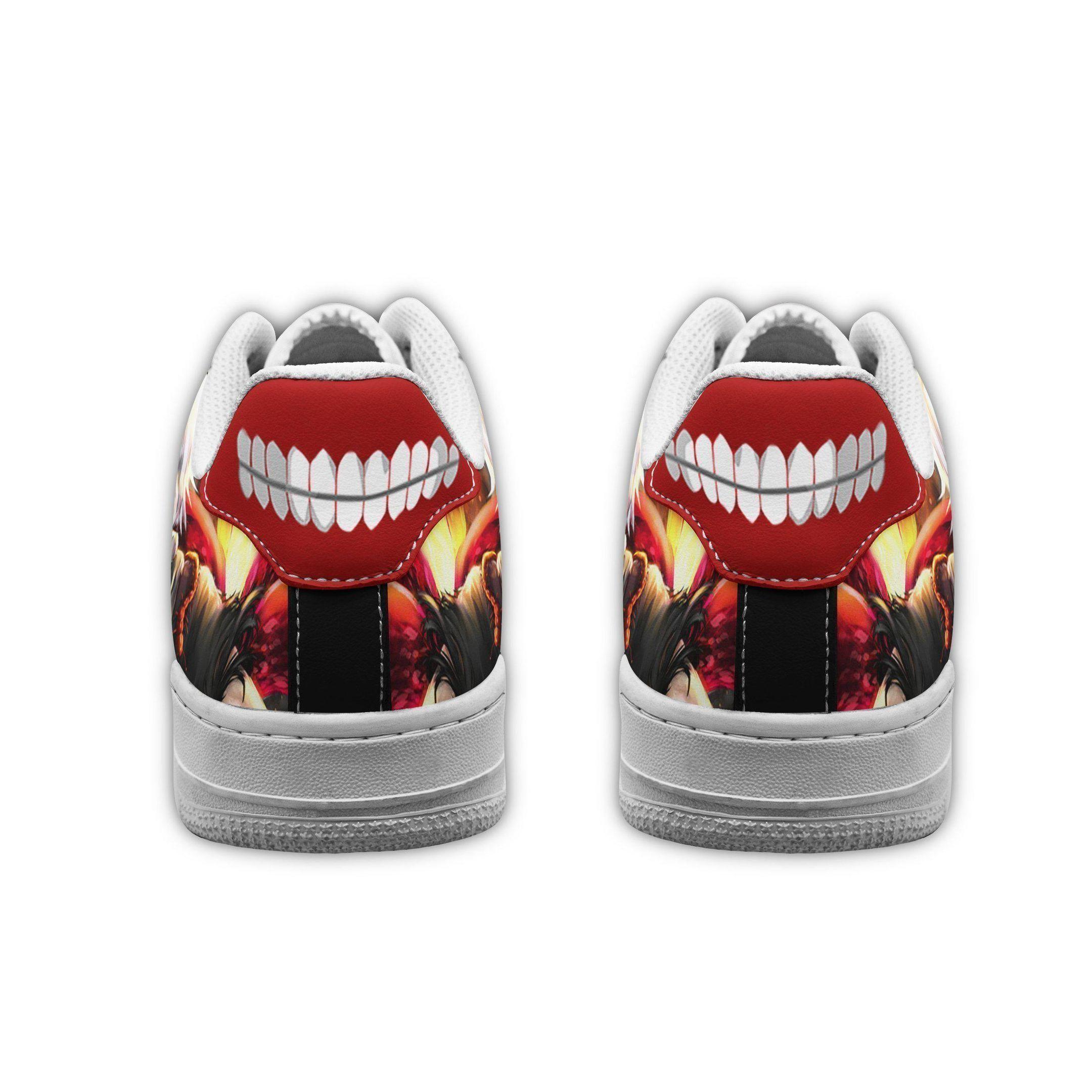 Ken Kaneki Air Shoes Tokyo Ghoul Anime Shoes Fan Gift GO1012