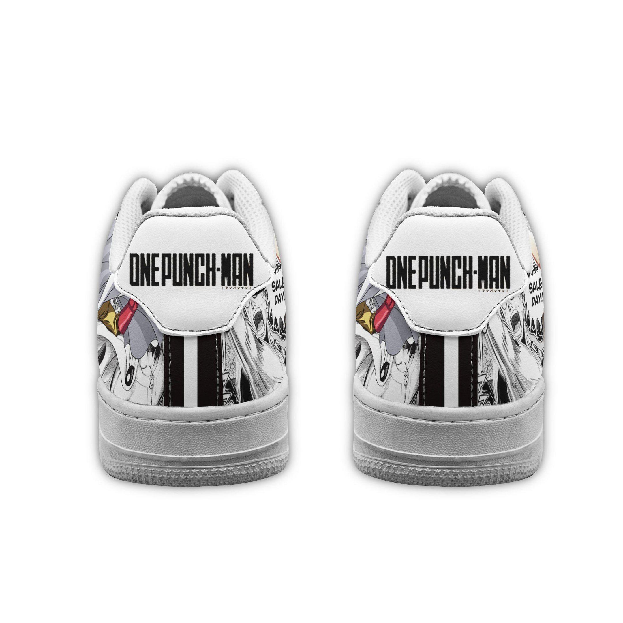 One Punch Man Air Shoes Manga Anime Shoes Fan Gift Idea GO1012