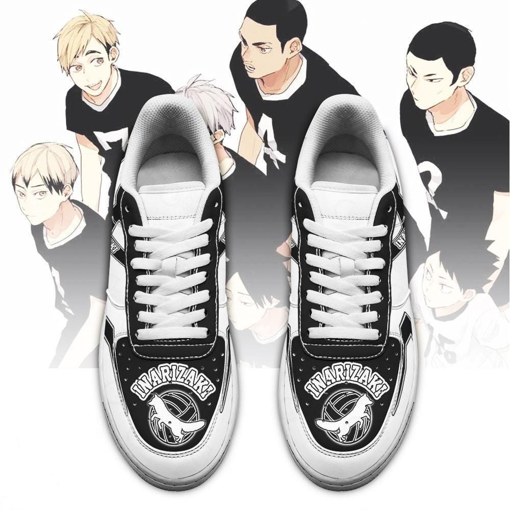 Haikyuu Inarizaki High Air Shoes Uniform Haikyuu Anime Shoes GO1012