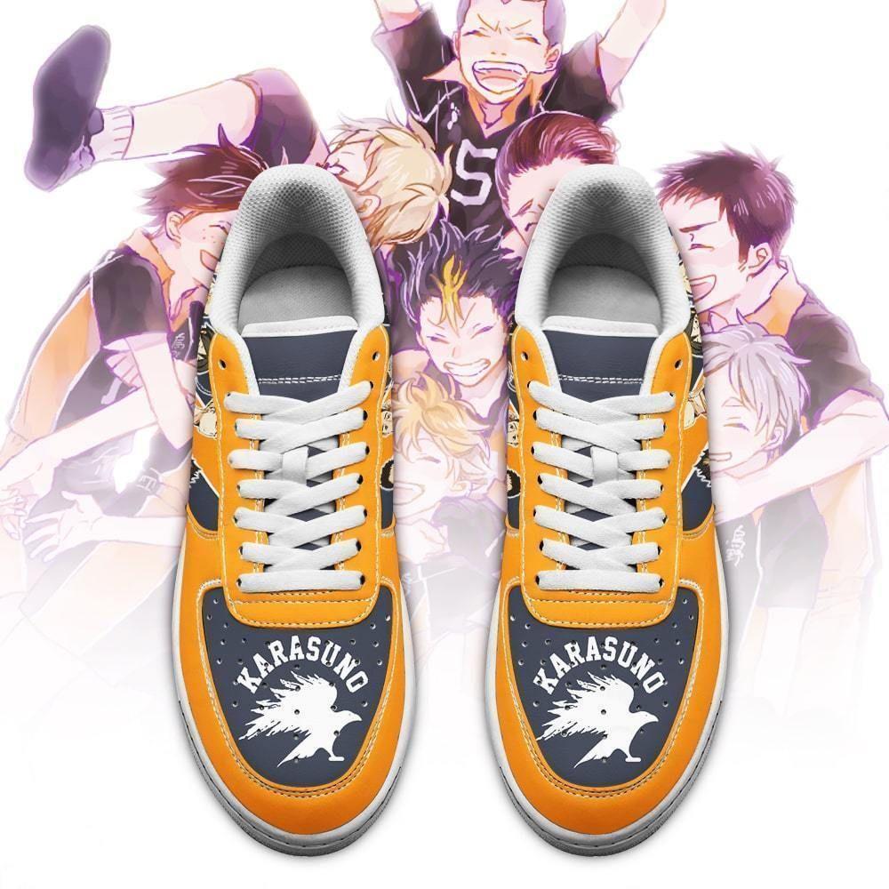Karasuno Air Shoes Custom Team Haikyuu Anime Shoes GO1012