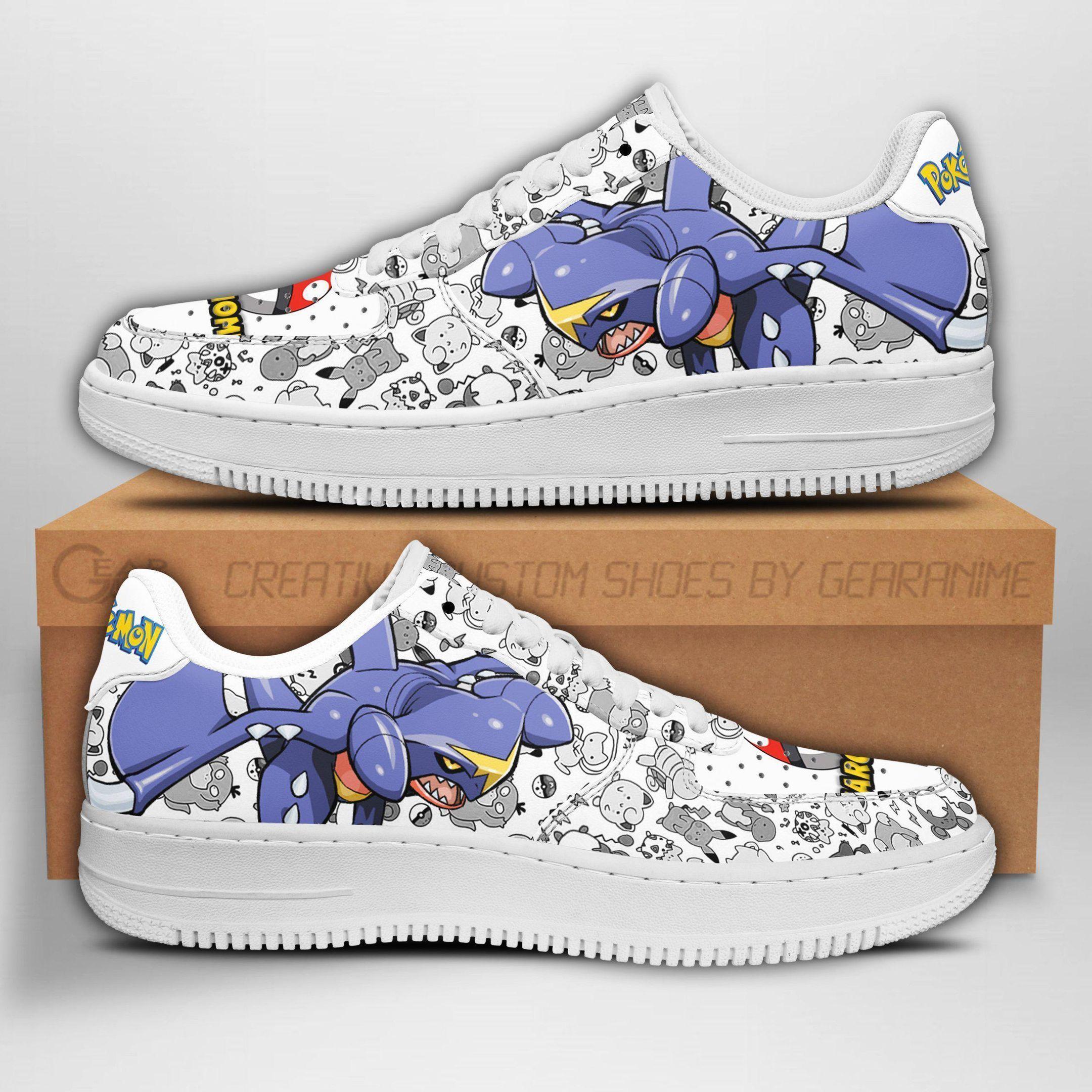 Garchomp Air Shoes Pokemon Shoes Fan Gift Idea GO1012