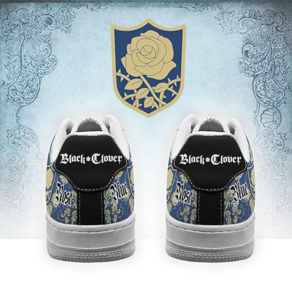 Black Clover Shoes Magic Knights Squad Blue Rose Air Shoes Anime GO1012