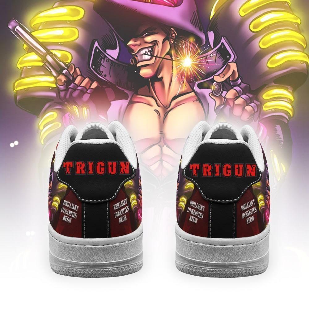 Trigun Shoes Brilliant Dynamites Neon Air Shoes Anime Shoes GO1012