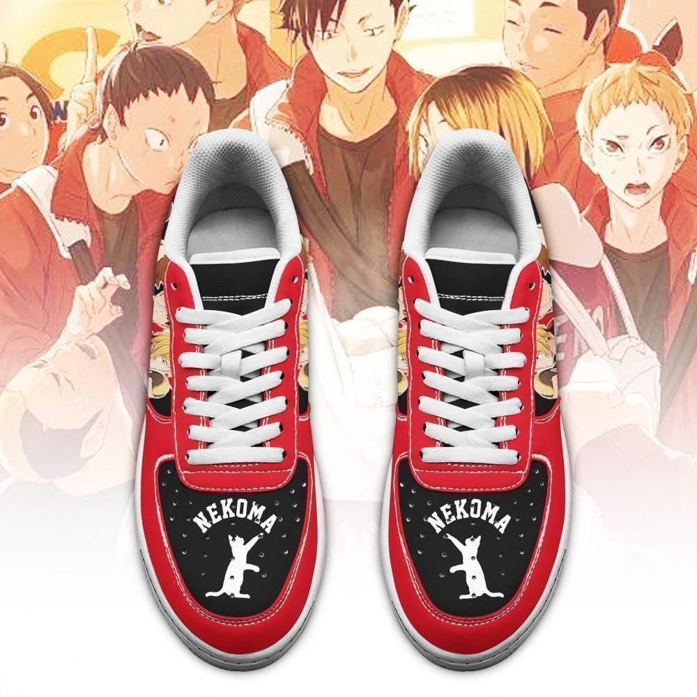 Haikyuu Nekoma High Air Shoes Team Haikyuu Anime Shoes GO1012
