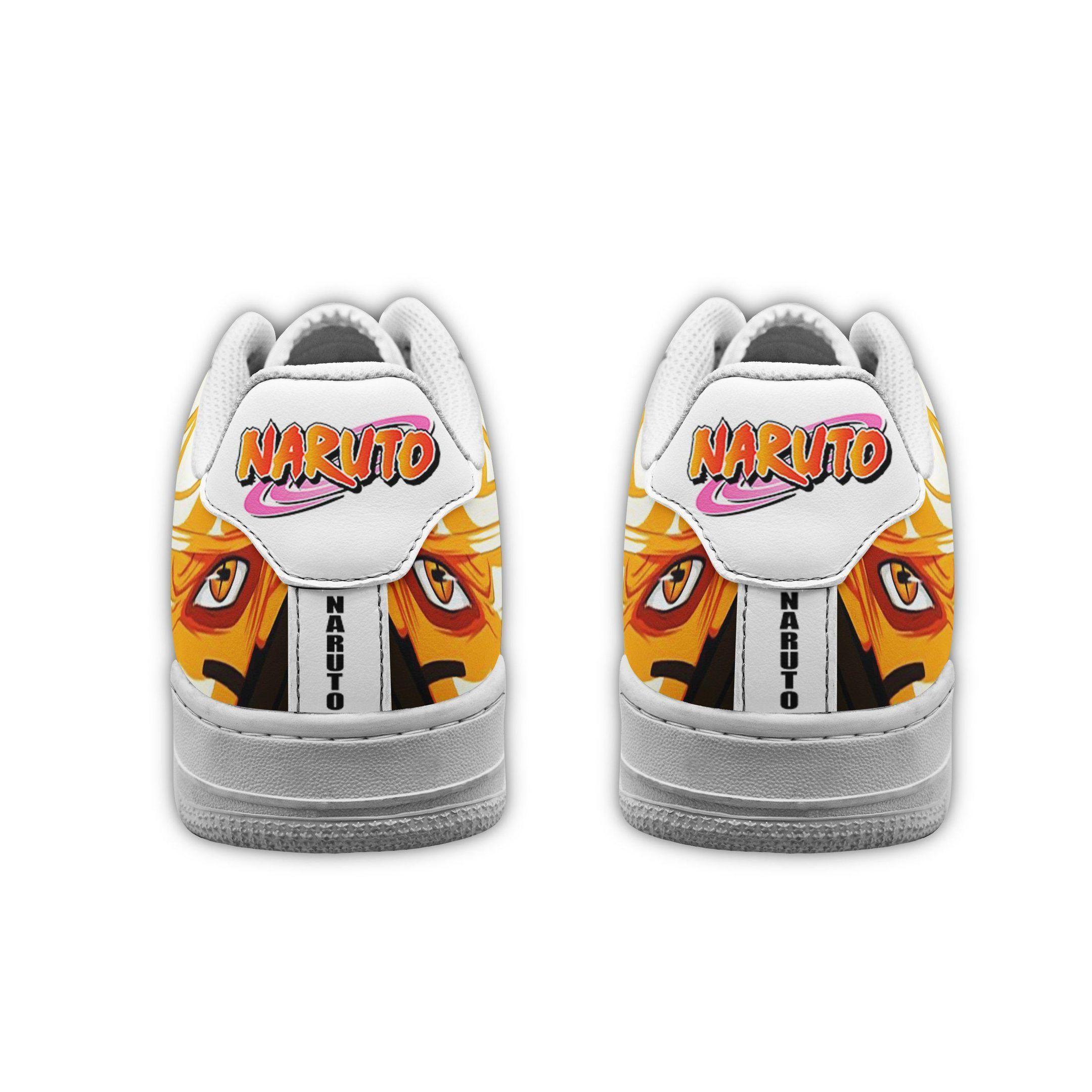 Naruto Bijuu Sage Eyes Air Shoes Naruto Anime Shoes GO1012