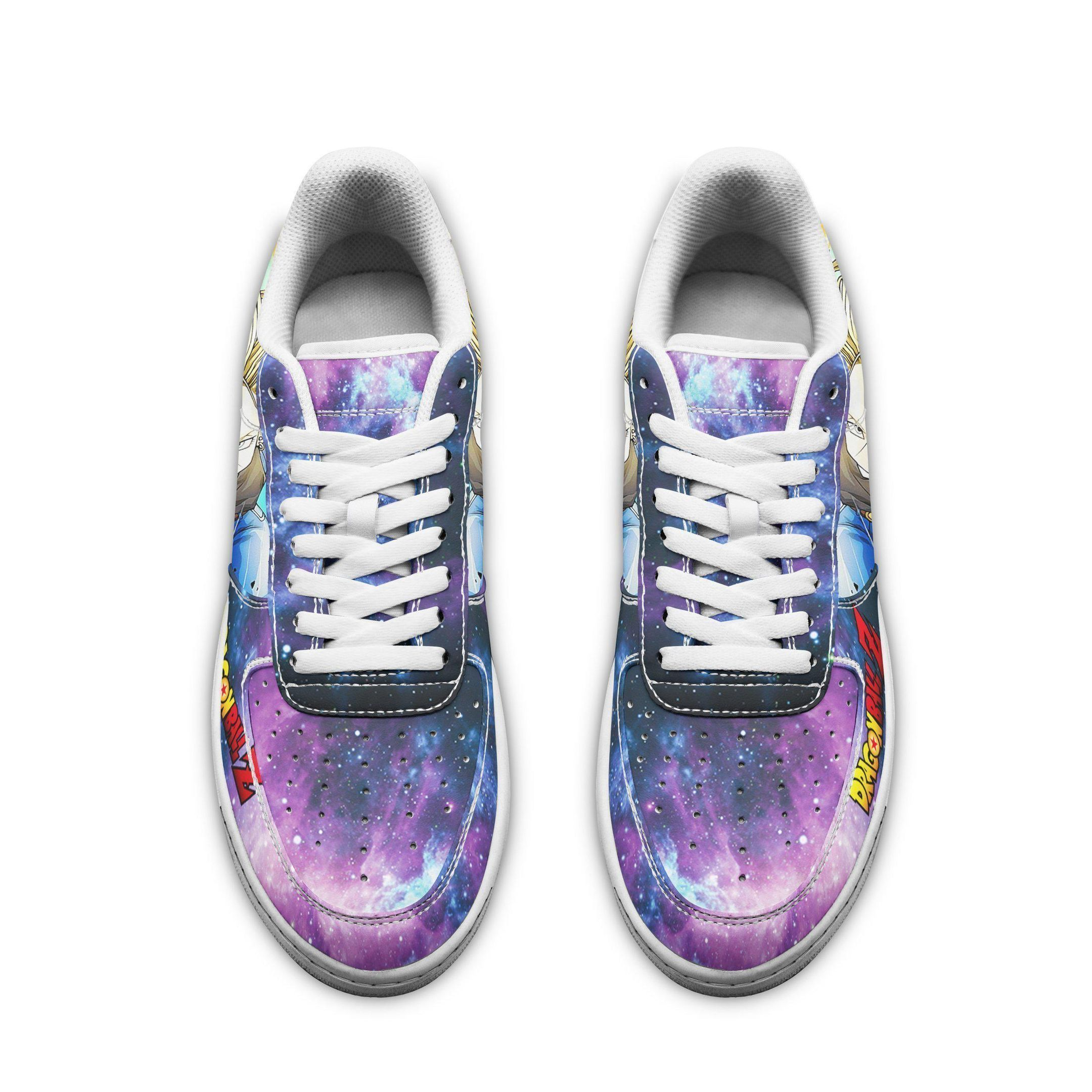 Android 18 Air Shoes Dragon Ball Z Anime Shoes Fan Gift GO1012
