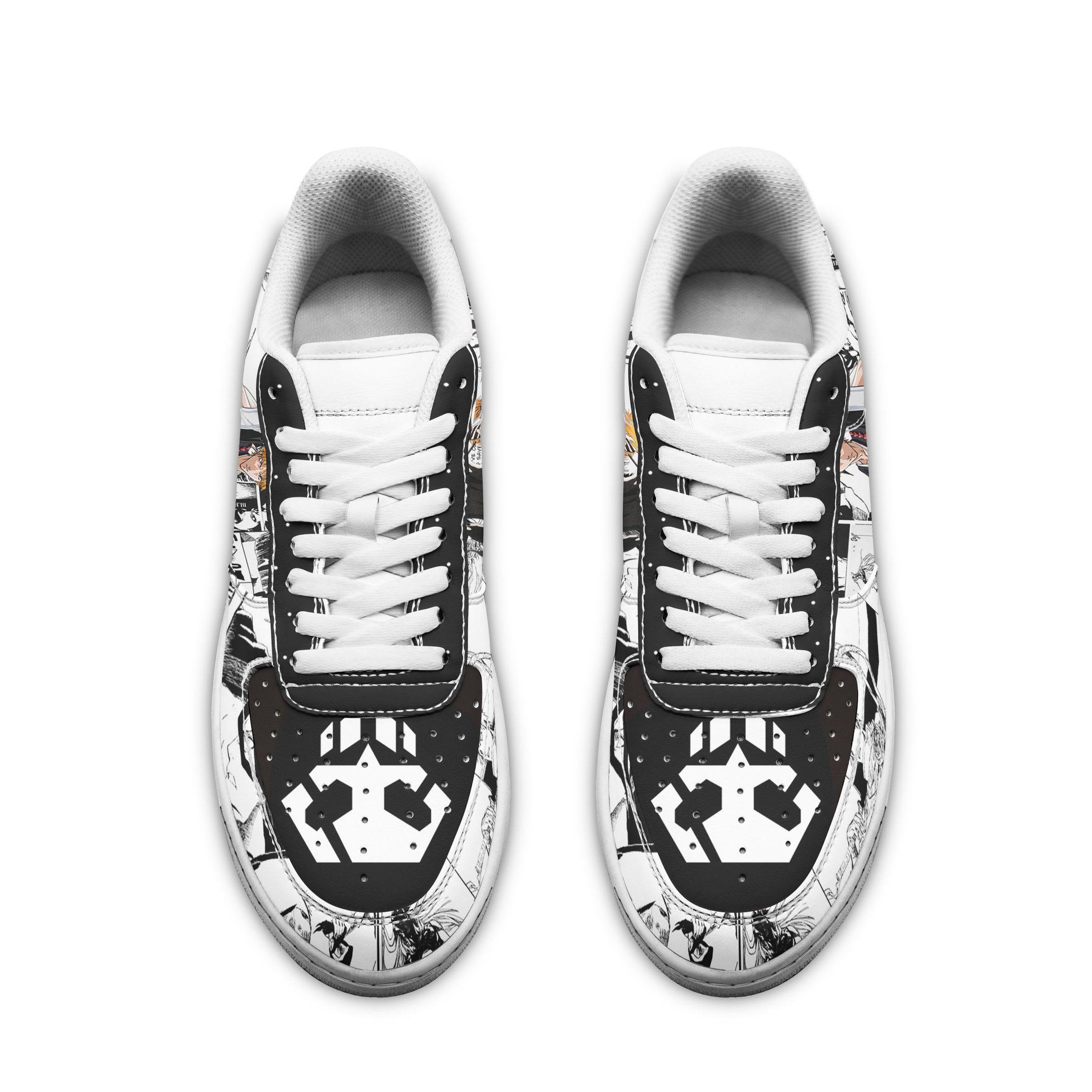 Bleach Ichigo Air Shoes Bleach Anime Shoes Fan Gift Idea GO1012