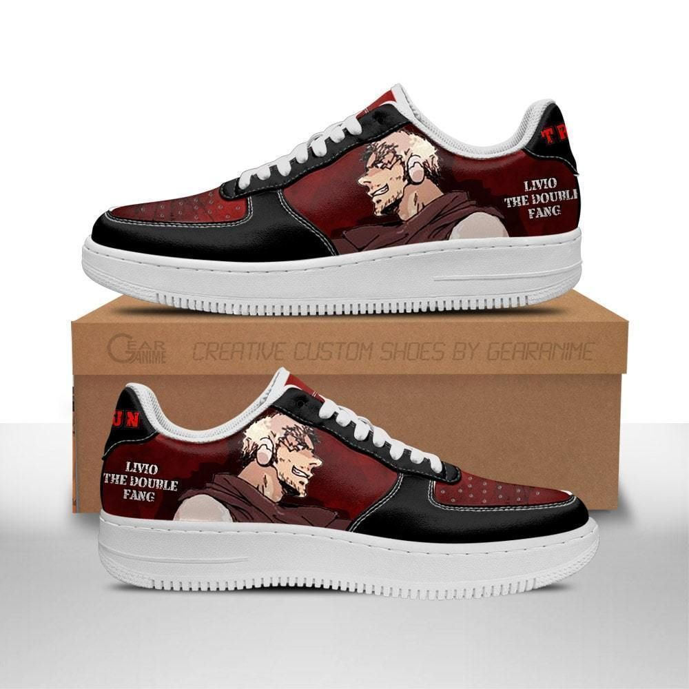 Trigun Shoes Livio The Double Fang Air Shoes Anime Shoes GO1012