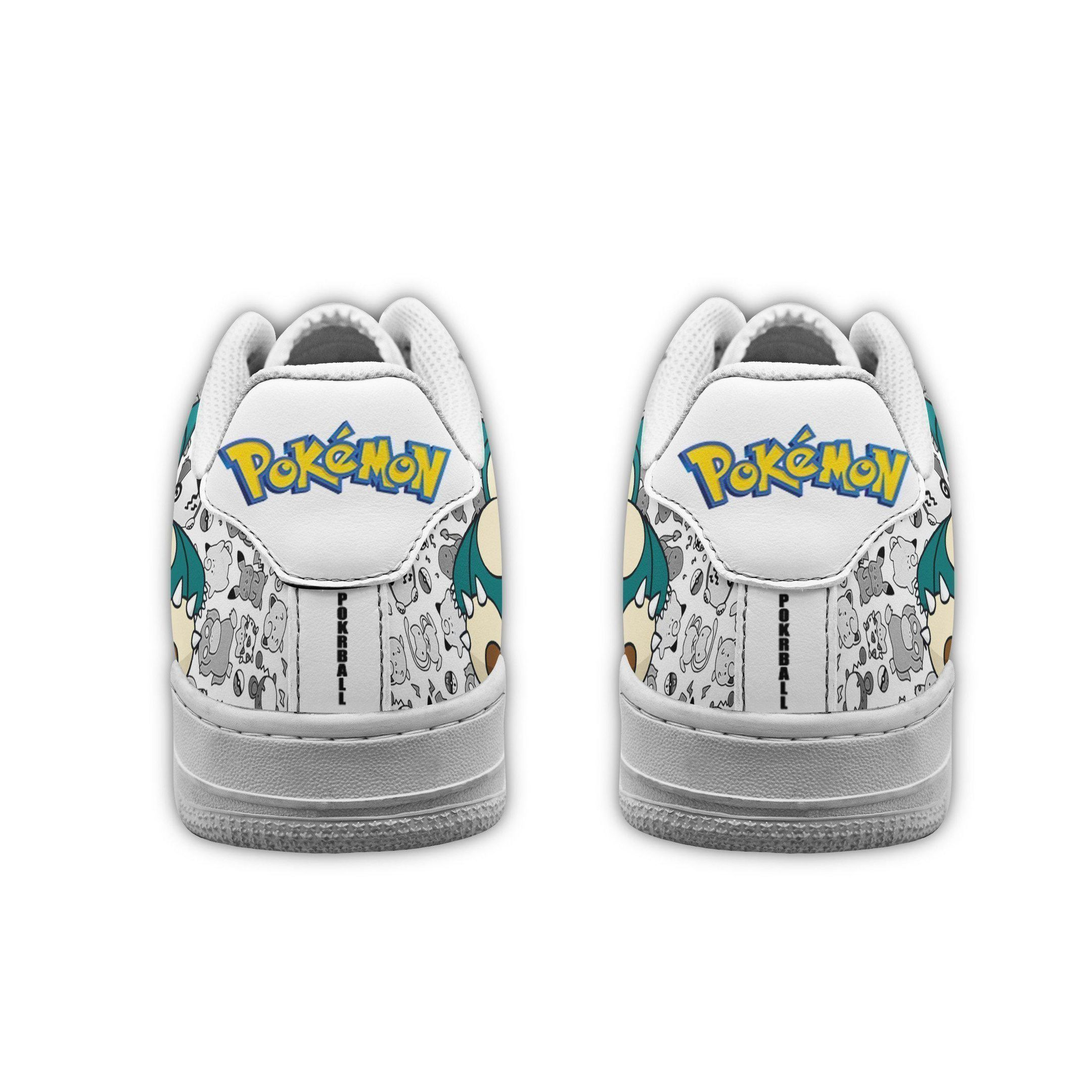 Snorlax Air Shoes Pokemon Shoes Fan Gift GO1012