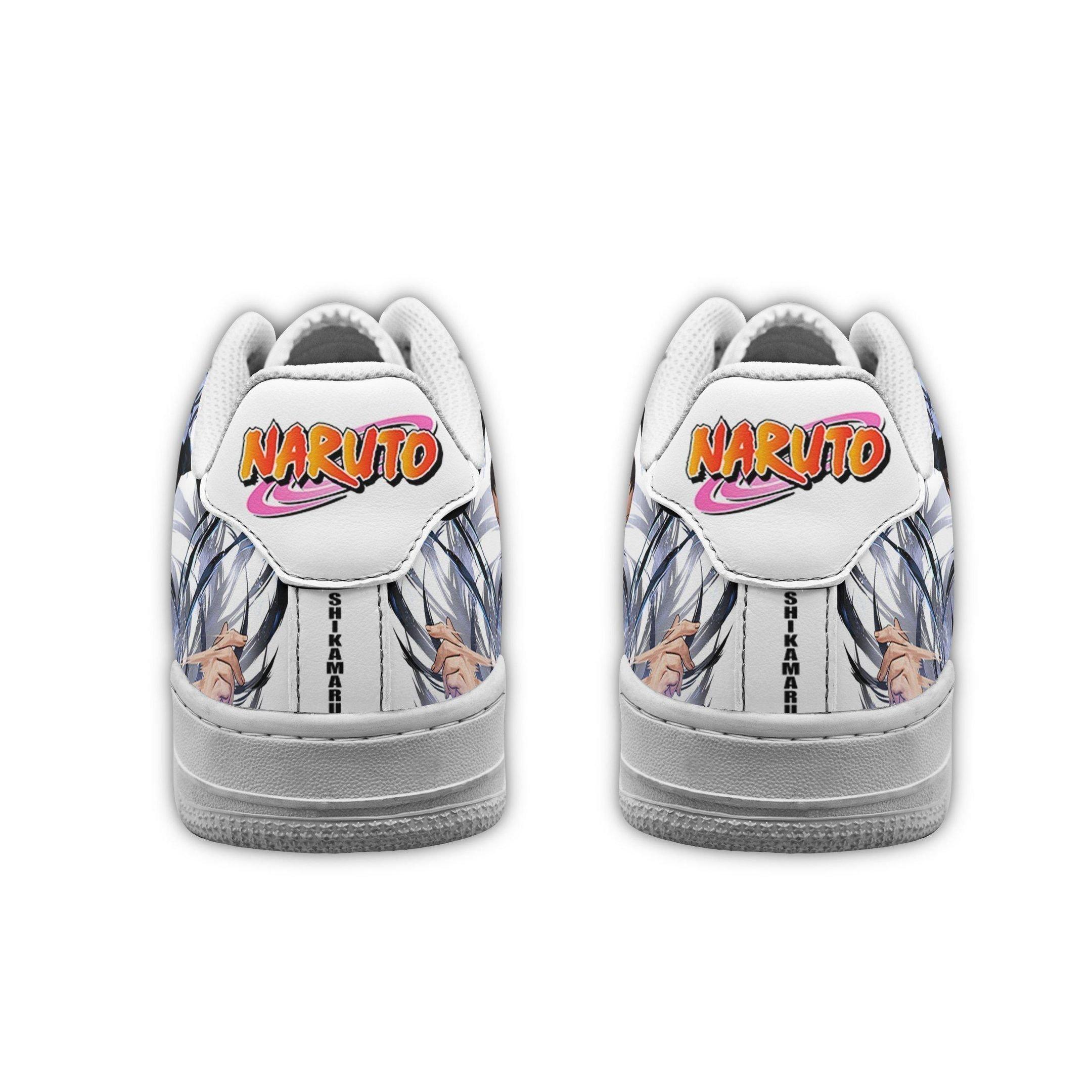 Shikamaru Air Shoes Naruto Anime Shoes Fan Gift GO1012