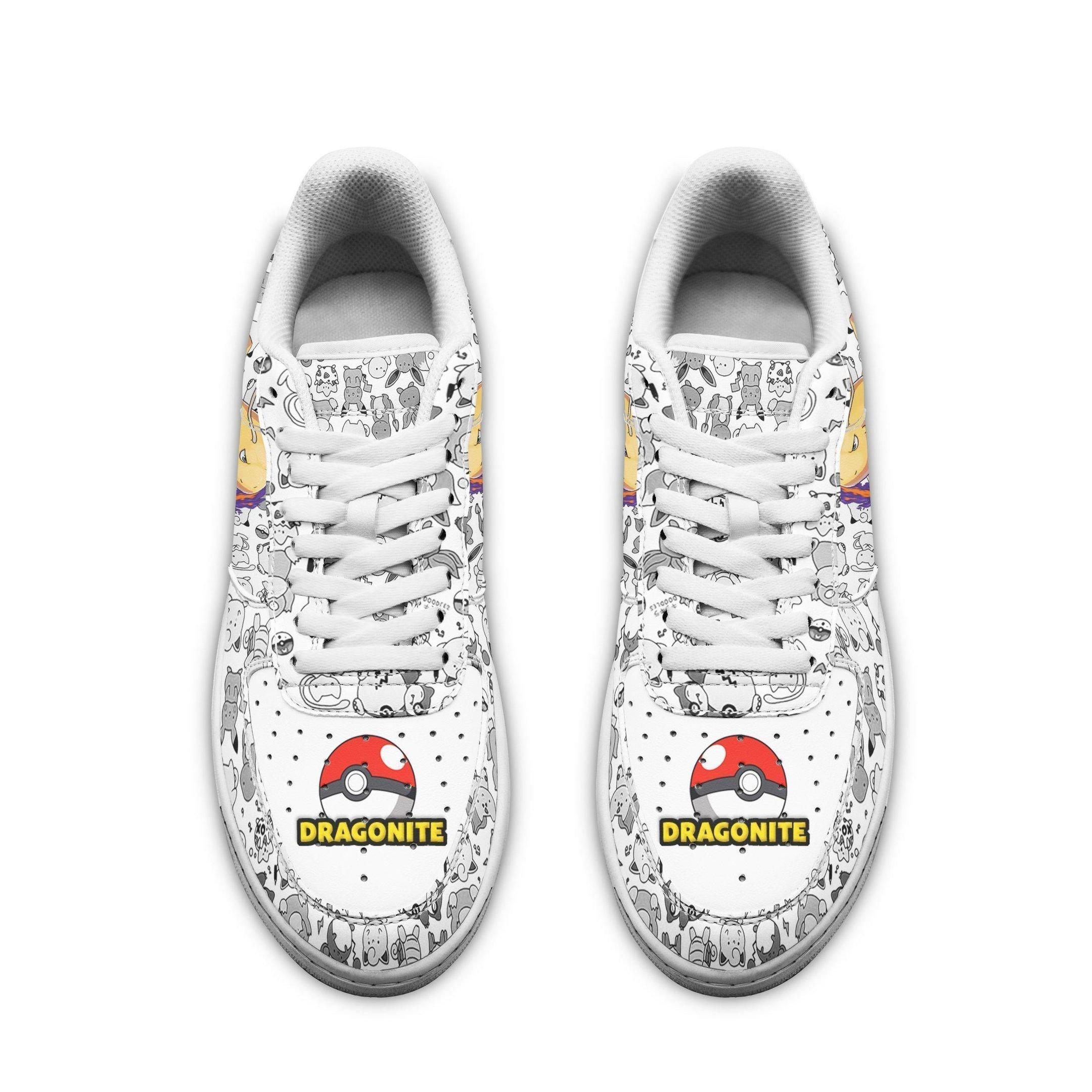 Dragonite Air Shoes Pokemon Shoes Fan Gift Idea GO1012
