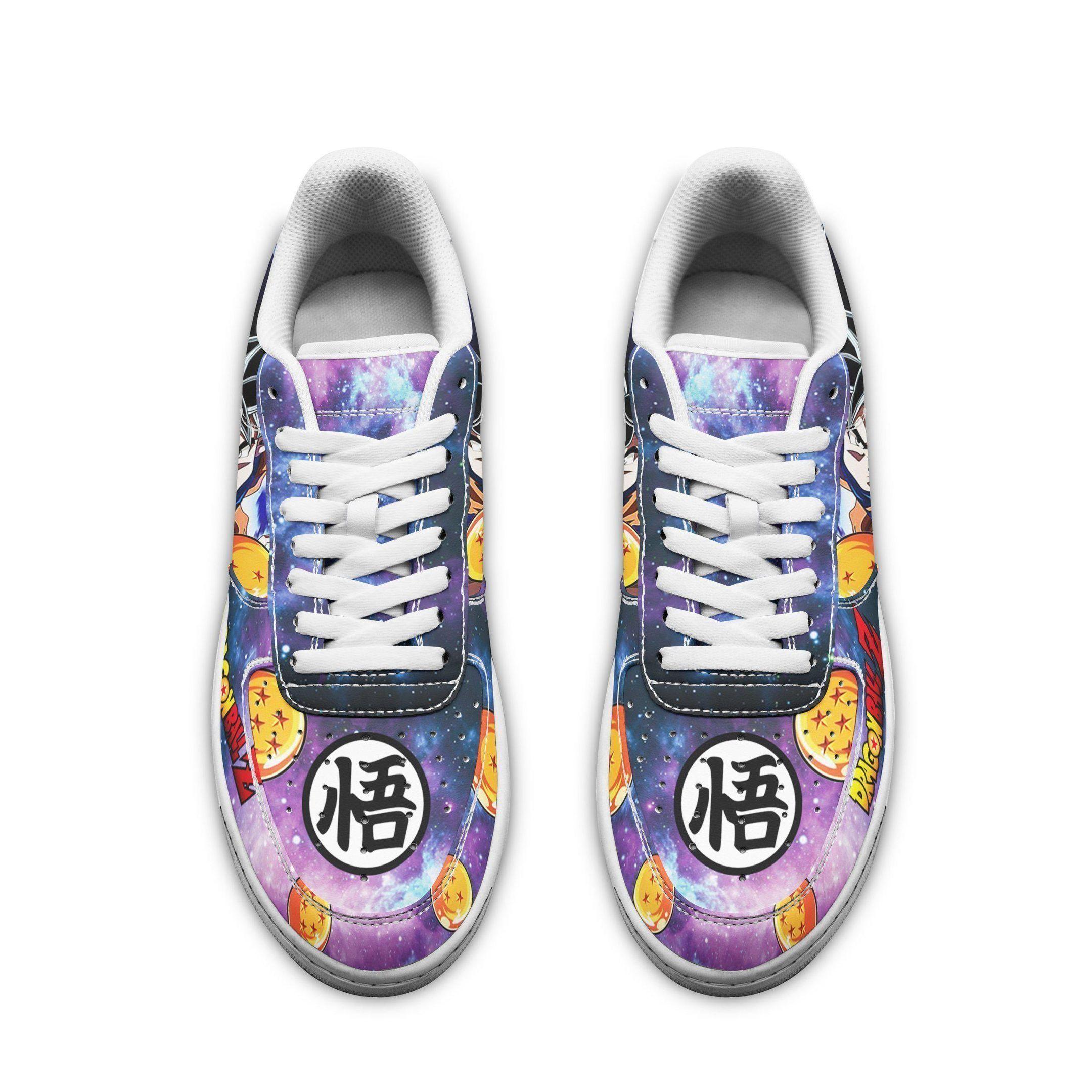 Goku Ultra Instinct Air Shoes Dragon Ball Super Anime custom shoe GO1012
