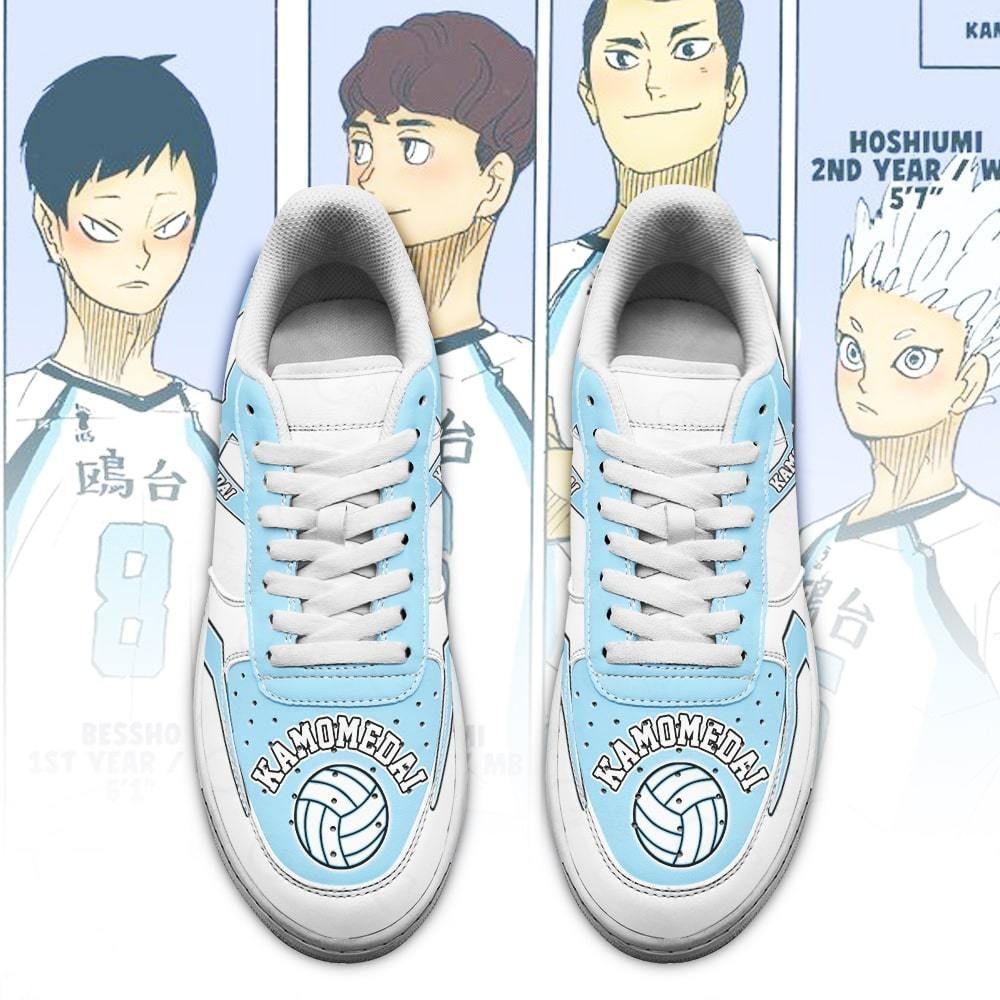 Haikyuu Kamomedai High Air Shoes Uniform Haikyuu Anime Shoes GO1012