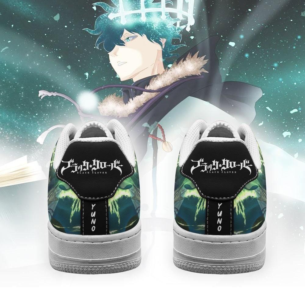 Yuno Air Shoes Golden Dawn Magic Knight Black Clover Anime Shoes GO1012