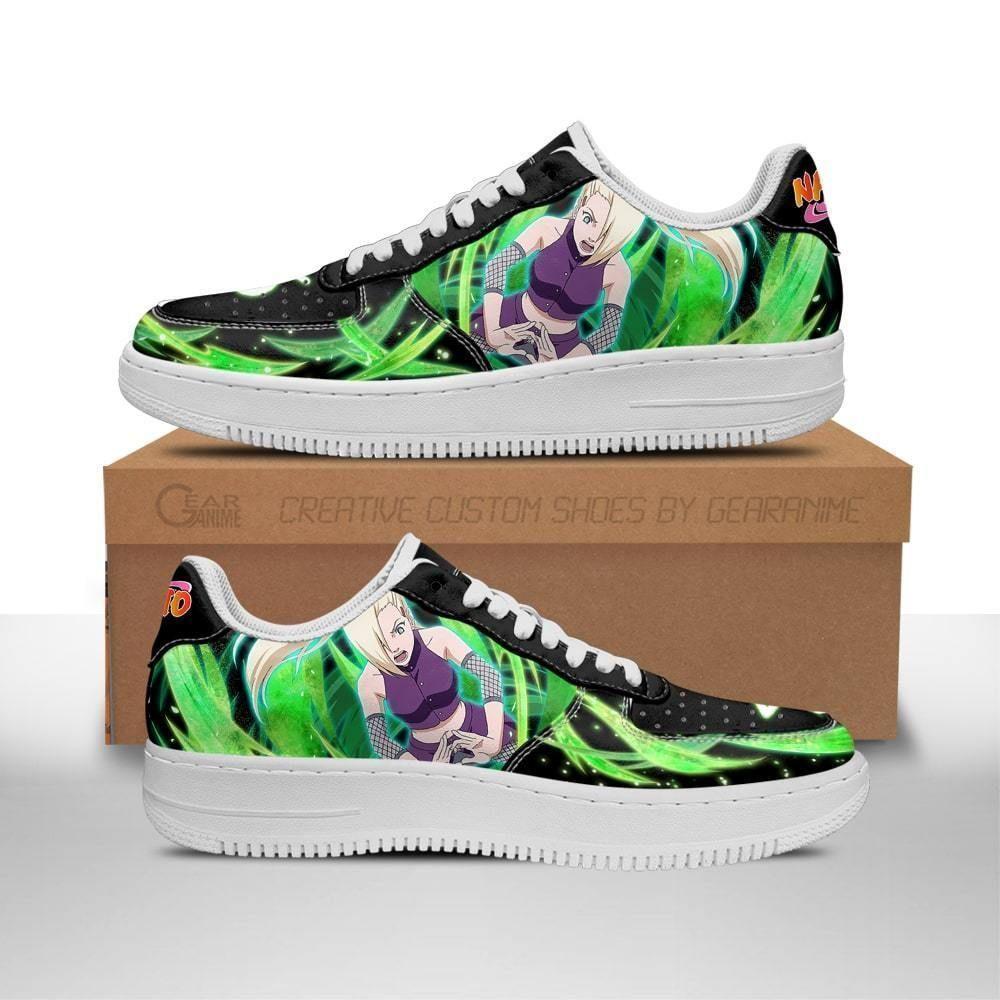 Ino Yamanaka Air Shoes Custom Naruto Anime Shoes Leather GO1012