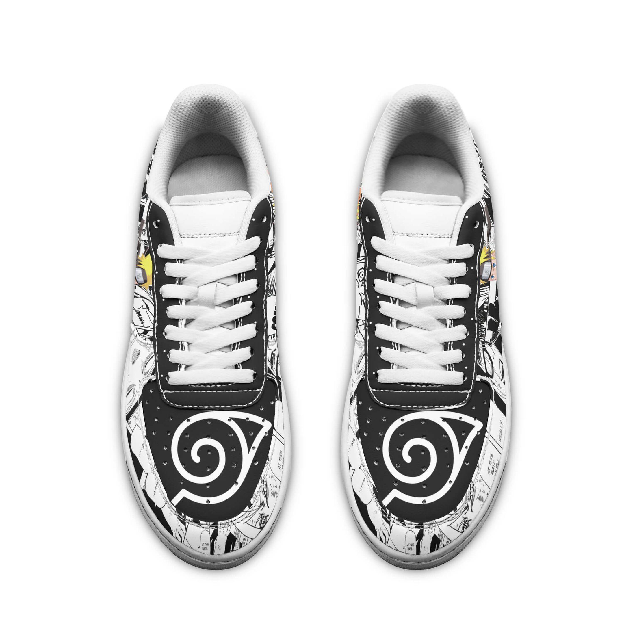 Naruto Air Sneakers Custom Mixed Manga Naruto Anime Shoes GO1012