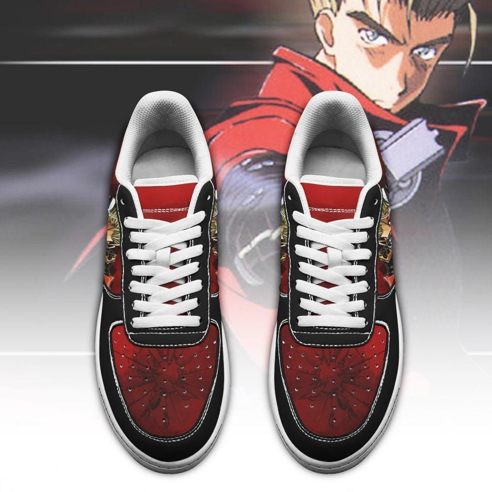 Trigun Shoes Vash The Stampede Air Shoes Anime Shoes GO1012