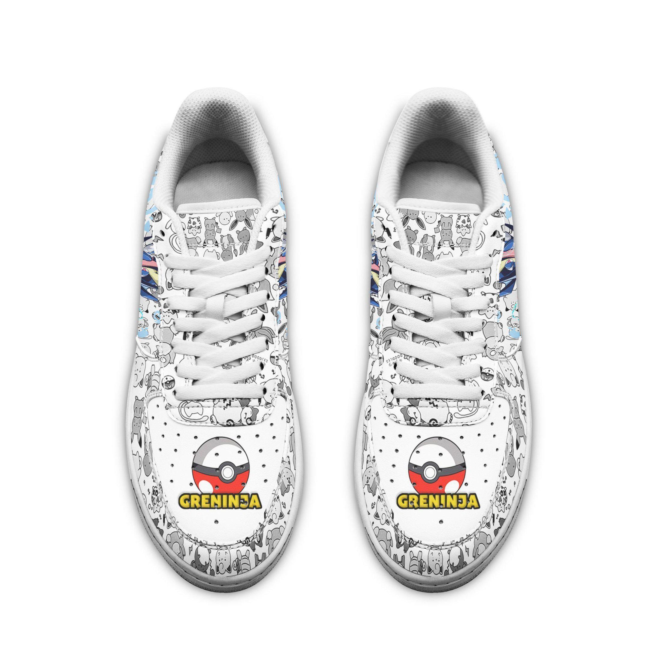 Greninja Air Shoes Pokemon Shoes Fan Gift Idea GO1012