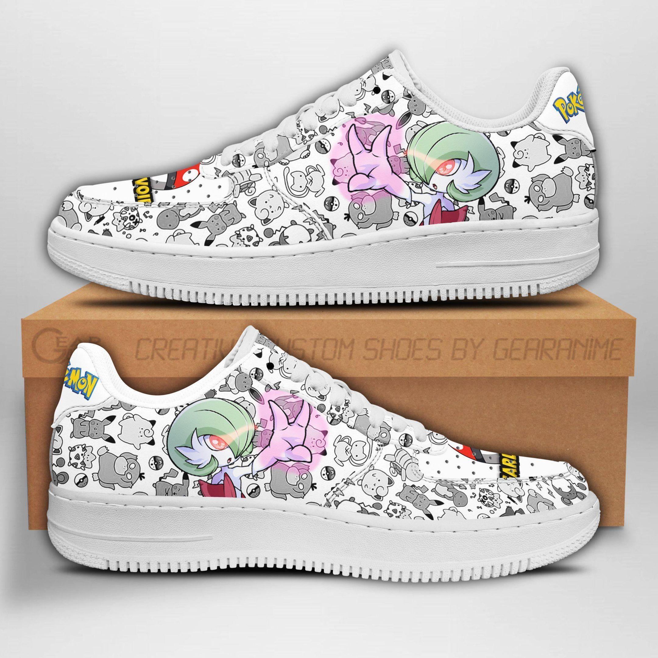 Gardevoir Air Shoes Pokemon Shoes Fan Gift Idea GO1012