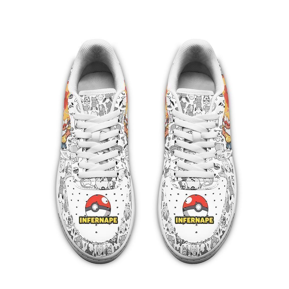 Infernape Air Shoes Pokemon Shoes Fan Gift GO1012