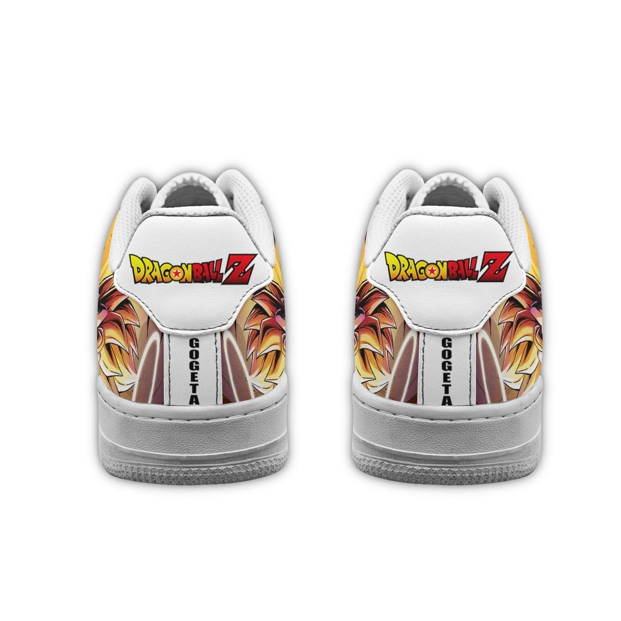 Gogeta Air Shoes Dragon Ball Z Anime Shoes Fan Gift GO1012