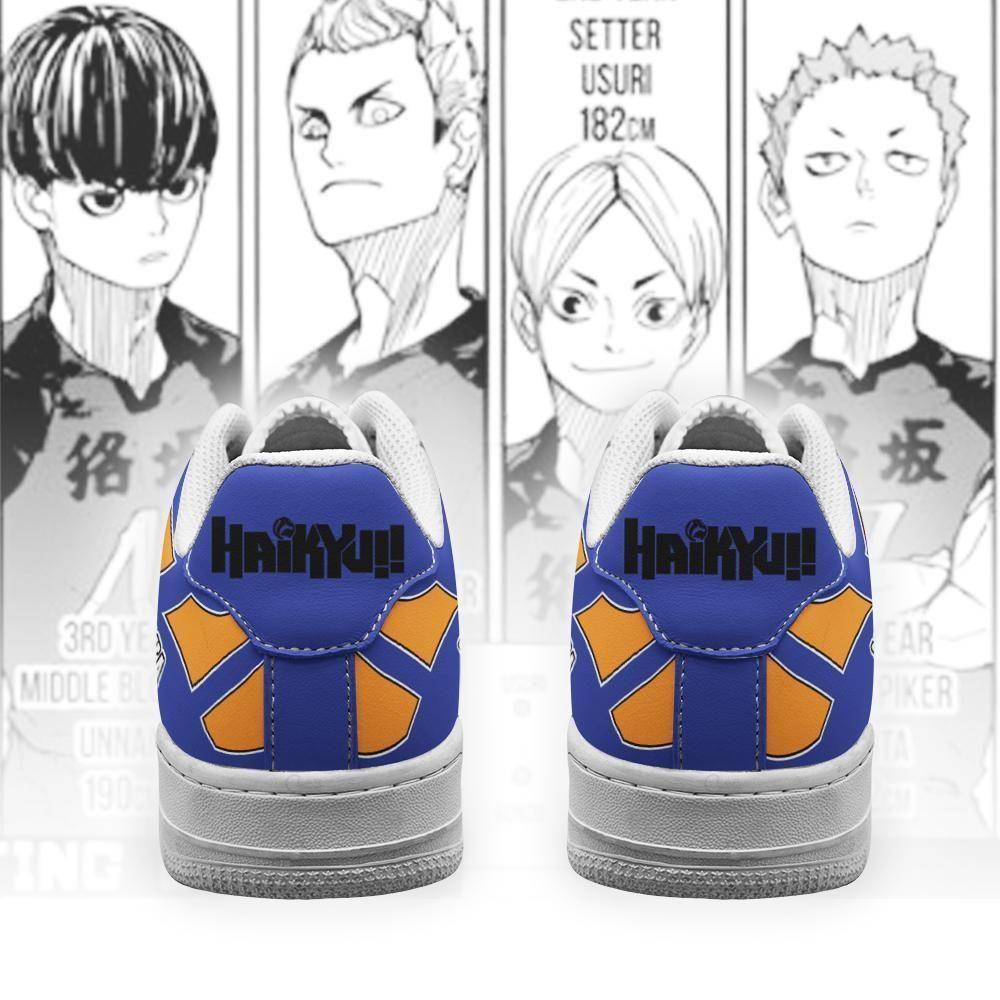 Haikyuu Mujinazaka High Air Shoes Uniform Haikyuu Anime Shoes GO1012
